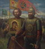 """""""1612 год. Гражданин Минин и князь Пожарский. """" Москвитин Ф.А."""